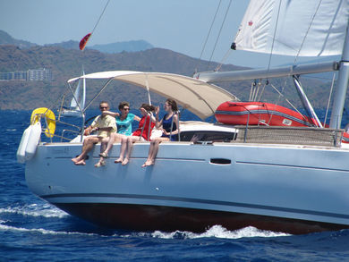 Rental sailboat Oceanis 43 in Orhaniye - Mugla