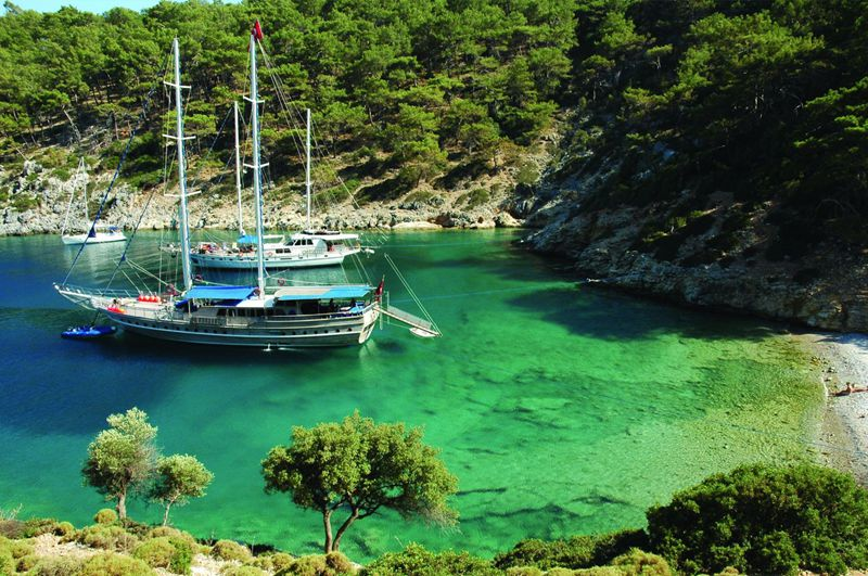 Inspiration for yachts charter in Turkey